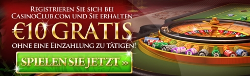 casino club 10 euro bonus